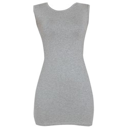Áo váy đầm thun nữ dáng ôm form dài bodycon sát nách DAM 0065 G