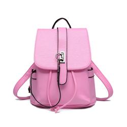 Balo da nữ phong cách thời trang Wii Shop mềm đẹp màu hồng – W306