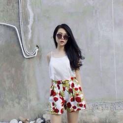 Quần Giả Váy Hoa