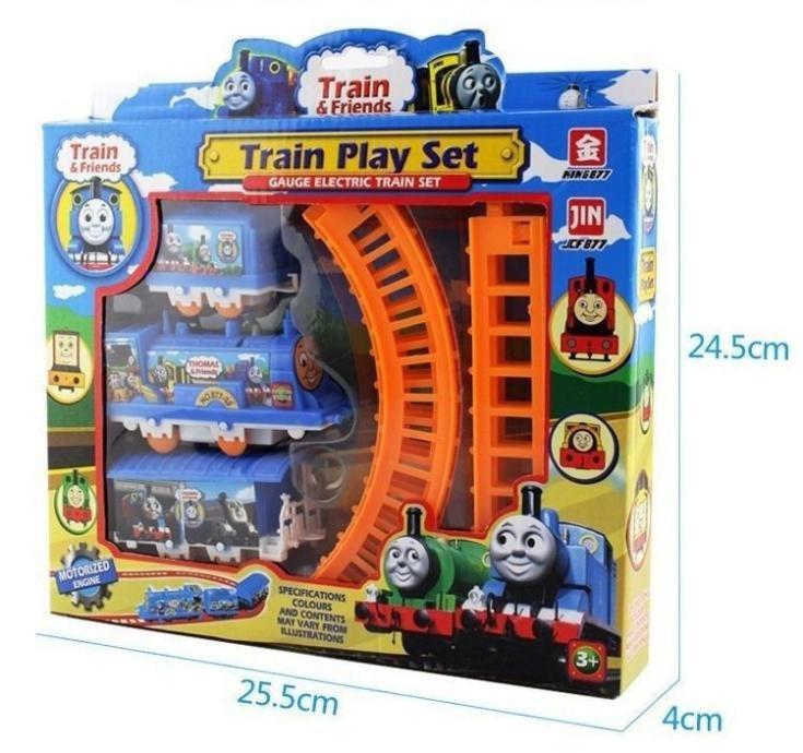 Bộ đồ chơi đoàn tàu Thomas 1