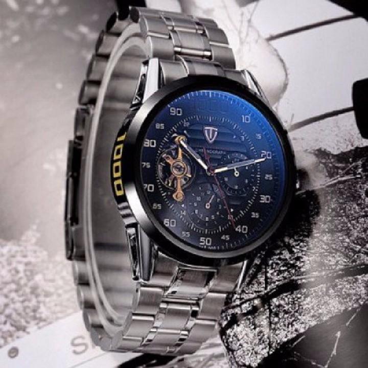 Đồng hồ tự động lộ máy cao cấp TEVISE 1000 3
