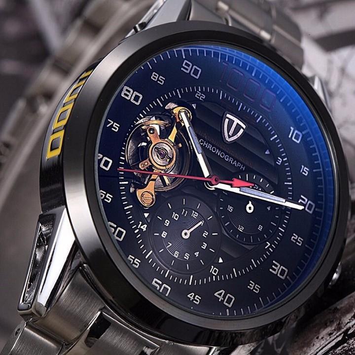 Đồng hồ tự động lộ máy cao cấp TEVISE 1000 2
