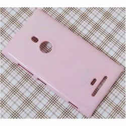 Ốp lưng Nokia Lumia 925 hiệu SGP màu hồng phấn