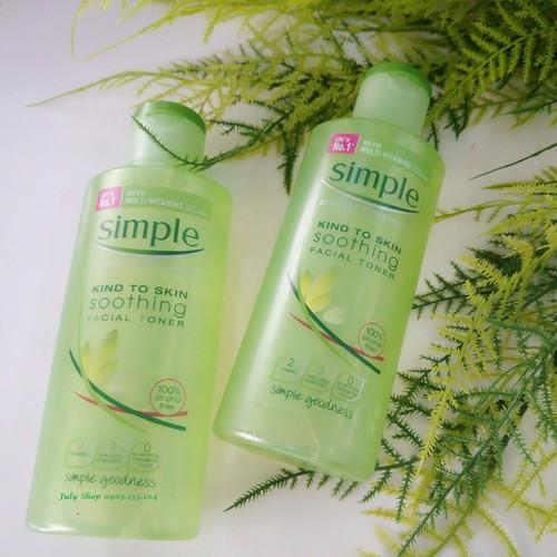 Nước hoa hồng Simple Kind to Skin Soothing Facial Toner - 4322829 , 10521062 , 15_10521062 , 200000 , Nuoc-hoa-hong-Simple-Kind-to-Skin-Soothing-Facial-Toner-15_10521062 , sendo.vn , Nước hoa hồng Simple Kind to Skin Soothing Facial Toner