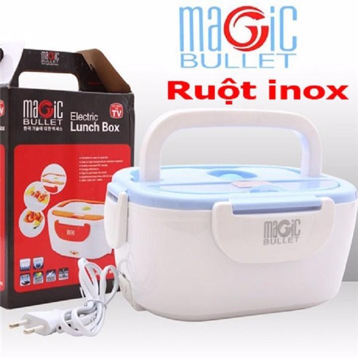 Hộp cơm cắm điện Magic Bullet ruột inox 2