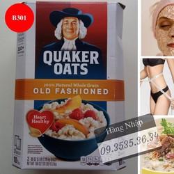 Yến mạch Quaker Oats Old Fashioned 4.53Kg