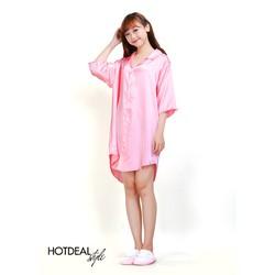 Đầm Ngủ Sơ Mi Đáng Yêu