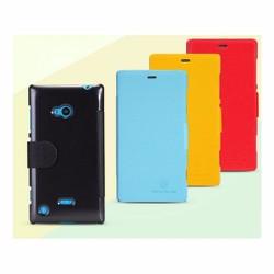 Bao da điện thoại Nokia Lumia 720 hiệu Nillkin quai gài