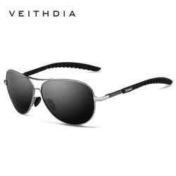 Kính mát phân cực Veithdia polarized thời trang - pilot