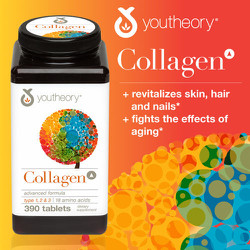 Viên Collagen Youtheory™ Advanced Formula, 390 viên