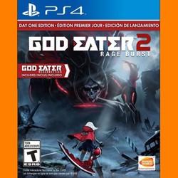 Đĩa God Eater 2 Rage Burst - Playstation 4 - hệ US