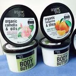 Tẩy da chết body Organic Shop