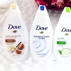Sữa tắm Dove  Mỹ - 650ml