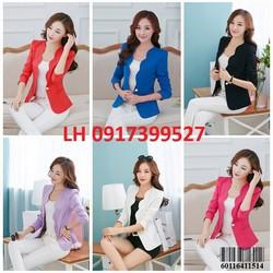 Áo vest nữ công sở thời trang Hàn QUốc  mới L12A1164