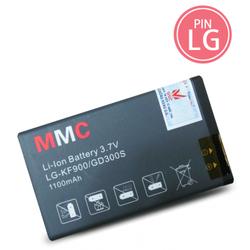 Pin điện thoại LG KF900 hiệu MMC dung lượng 1100mAh
