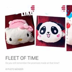 Túi sưởi hình Hello Kitty