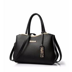 Túi xách thời trang nữ fontest 1 màu đen TT912