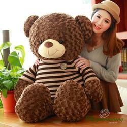 Gấu bông Teddy áo len 1m1