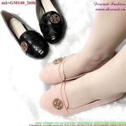 Giày mọi nữ đính đồng tiền cực xinh và nữ tính GM140