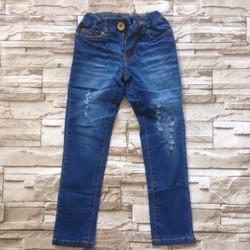 QG31 [12-30kg] Quần dài jeans mềm mỏng co giãn