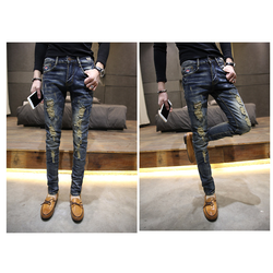 Quần jeans nam thời trang Hàn Quốc