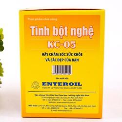 Tinh bột nghệ tách dầu và tạp chất KC-05 Viện Hàn Lâm KHCNVN Okiiu