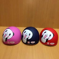 BH23 - Nón mũ bảo hiểm họa hình gấu Panda