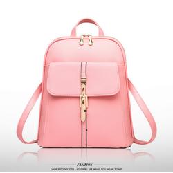 Balo da nữ thời trang Classic BaloHome màu hồng đào – 317