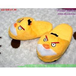 Dép thú bông mang trong nhà cho bé hình Angry birds cực xinh DBA9
