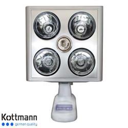 Đèn Sưởi Nhà Tắm Kottmann 4 Bóng