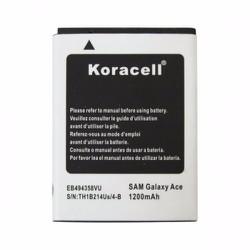 Pin Samsung-Galaxy Ace S5830 hiệu Koracell 1200mAh
