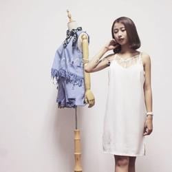 Đầm xuông hai dây nữ