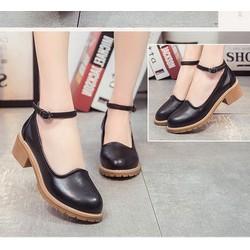 Giày Oxford cổ tim | giày oxford nữ
