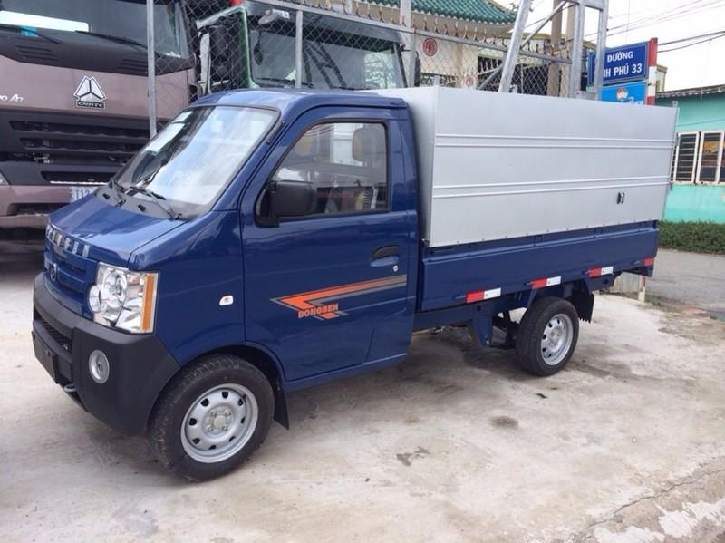 Mua xe tải dongben 810kg thùng bạt, đời 2016, mới 100% - dongben 810kg thùng bạt