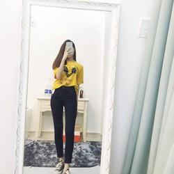 Quần jeans cao cấp Skinny, quần jeans nữ tôn dáng form chuẩn