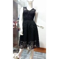 Đầm ren xòe cao cấp, sang trọng Minh Tâm Fashion D20160002
