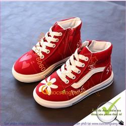 Hàng nhập – Giày bé gái đẹp Sneaker thể thao đế nhẹ GLG025
