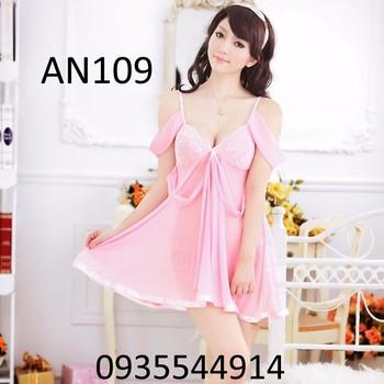 Váy ngủ công chúa cao cấp AN109