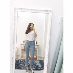 Quần jeans thời trang cao cấp Skinny form chuẩn tôn dáng