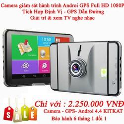 Camera ô tô - Định vị GPS dẫn đường Full HD 1080P
