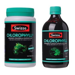 Swisse vị bạc hà Chlorophyll Spearmint