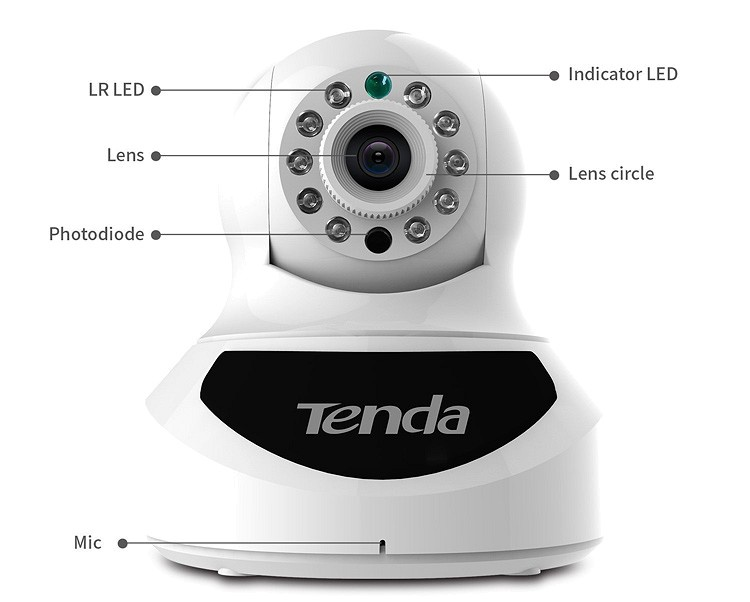 IP Camera Tenda C50s 1
