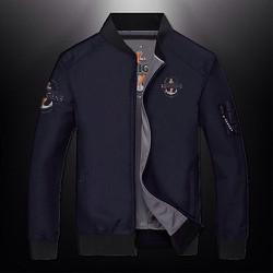 Áo khoác dù nam 2 mặt cao cấp thêu logo mẫu mới