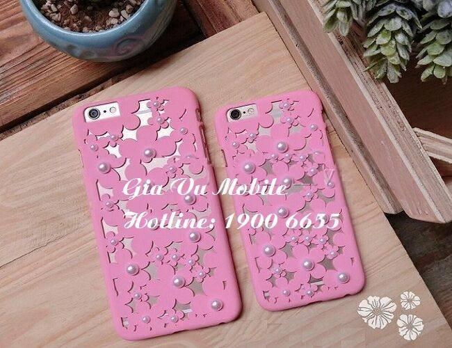 Ốp hoa cúc iphone 1