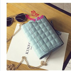 Túi hộp nhỏ xinh màu xanh