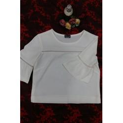 Áo kiểu phối ren, tay lở xòe- Minh Tâm Fashion A20160004