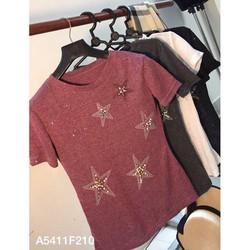 Áo ngôi sao chất thun giấy lụa có ánh kim nhẹ nhàng cực xinh