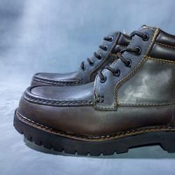 Giày Boot cao cổ nam màu nâu