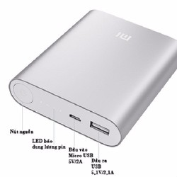 Pin dự phòng Xiaomi 10400 mAh