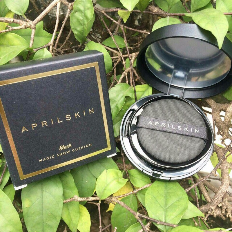 PHẤN NƯỚC APRIL SKIN BLACK 1